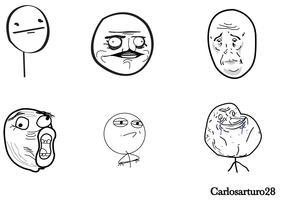 Meme Cartoon Vectors