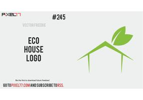 Free Vector of the Day #245: Eco House Logo