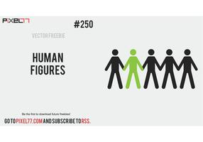 Human Vector Figures - Free Vector of the Day #250