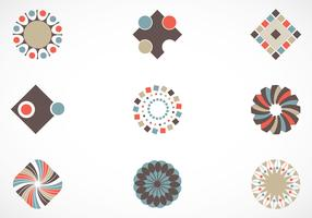 Retro Vector Elements Pack