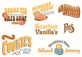 Vintage Food Advertising Vector Pack
