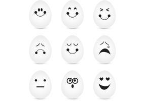 Expressive Egg Vector Pack