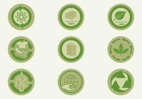 Eco Badge Vector Pack
