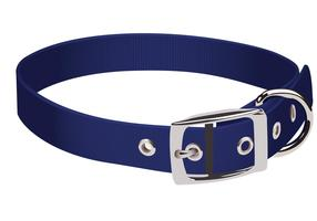 Blue Dog Collar Vector
