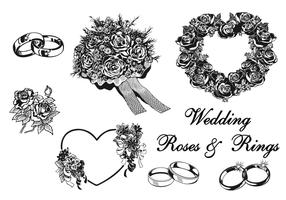 Wedding Vector Elements Pack