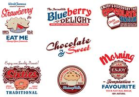 Vintage Advertising Vector Pack