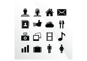 16 iOS Tab Bar Vector Icons by IconBeast.com