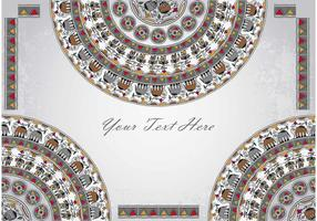 Ornament Background Vector 4