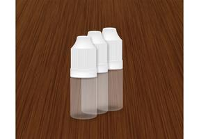 Plastic Dropper Bottle Vector 10ml