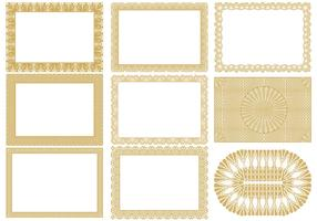 Certificate Border Vectors Pack