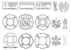 Fire Department Vector Pack