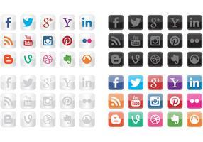 Social Icon Vectors