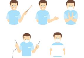 Dentist Vector Pack