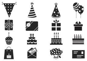 Birthday Vector Symbol Pack