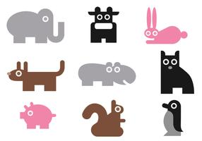 Simple Animal Vector Pack