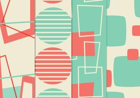 Retro Background Vector Pack