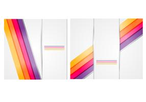 Silver Background Vector Pack with Bright Lines
