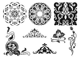 Vintage Ornament Vector Pack