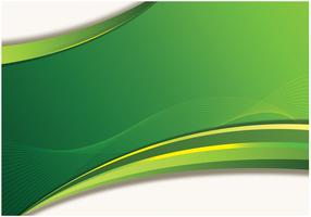 Abstract Green Wallpaper Vector