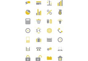 Iconika - Business and Financial Icon Vector Set