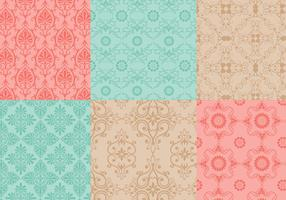 Seamless Ornamental Vector Pattern Pack