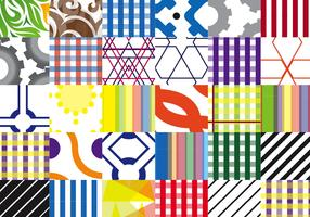 30 Abstract Vector Pattern Swatches