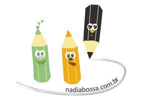 Three Pencil Vectors