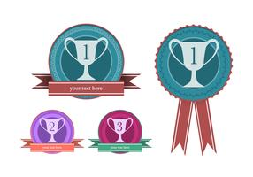Winner Badge Vectors