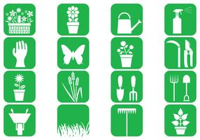 Gardening Vector Icons Pack