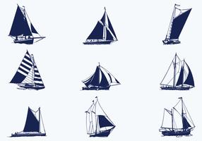 Sailing Ship Vector Pack