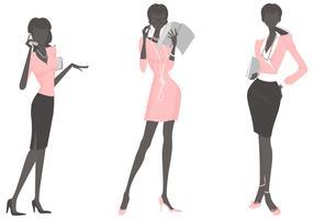 Mujer de negocios Pack Vector