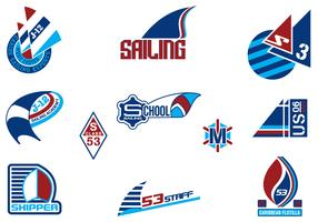 Sailing Logo Vector Pack