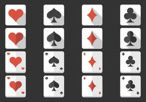 Playing Card Icon Vector Pack