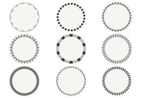 Simple Circular Frame Vectors