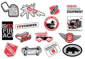 Urban Sticker Vector Pack