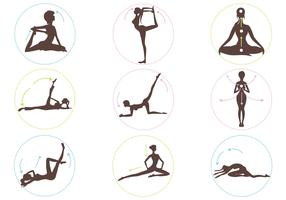 Yoga Position Vector Pack