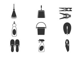Cleaning Tool Vector Pack