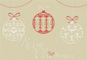 Decorative Christmas Ornament Vector Background Pack