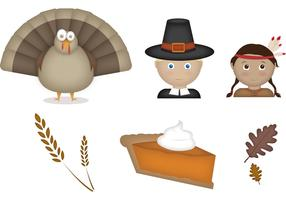 6 Thanksgiving Vectors