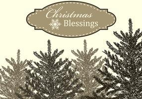 Christmas Blessings Vector