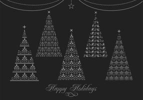 Decorative Christmas Tree Vector