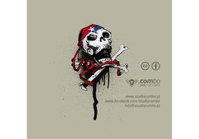Jolly Roger Skull Vector