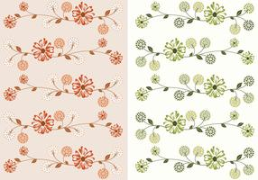 Floral Wallpaper Vector Pack
