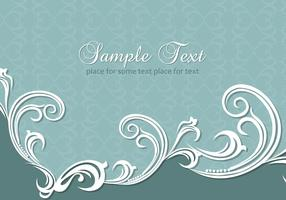 Swirly Flourish Background Vector Pack