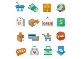 Shopping Icons Vectors
