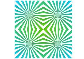 Emerald Sunburst Vector Wallpaper Pack