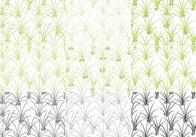 Grass Pattern Vector Pack