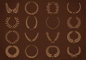 Garlands and Wreath Vector Pack