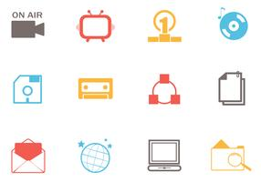 Simple Web Icons Vector Pack