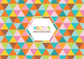 Bunte Dreieck Hintergrund Vektor